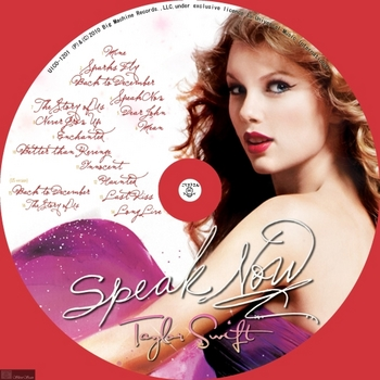 '000 (Music) [CD label] [UICO_1201] Taylor Swift 04 2010.11.10 Speak Now by sliver.jpg