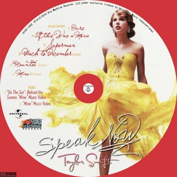 '000 (Music) [CD label] [UICO_1202] Taylor Swift 04 2010.11.10 Speak Now Disc2 (38mm) by sliver.jpg